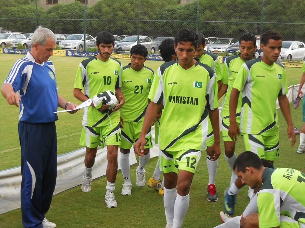 'Rise in Pak football will take time', says Zavisa