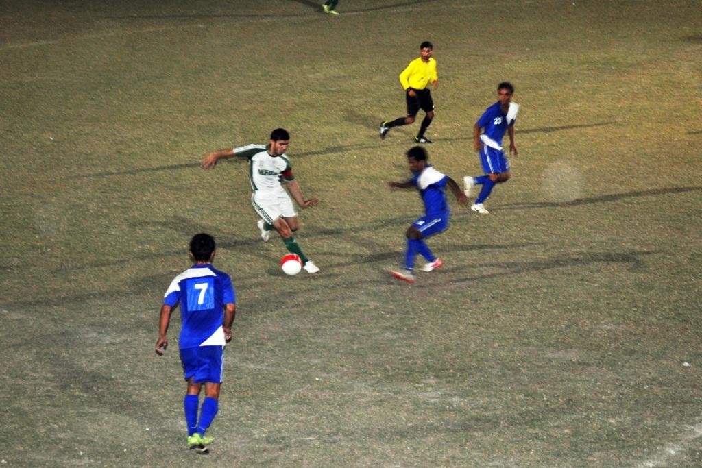 Muslim FC consolidate top position [Tribune]