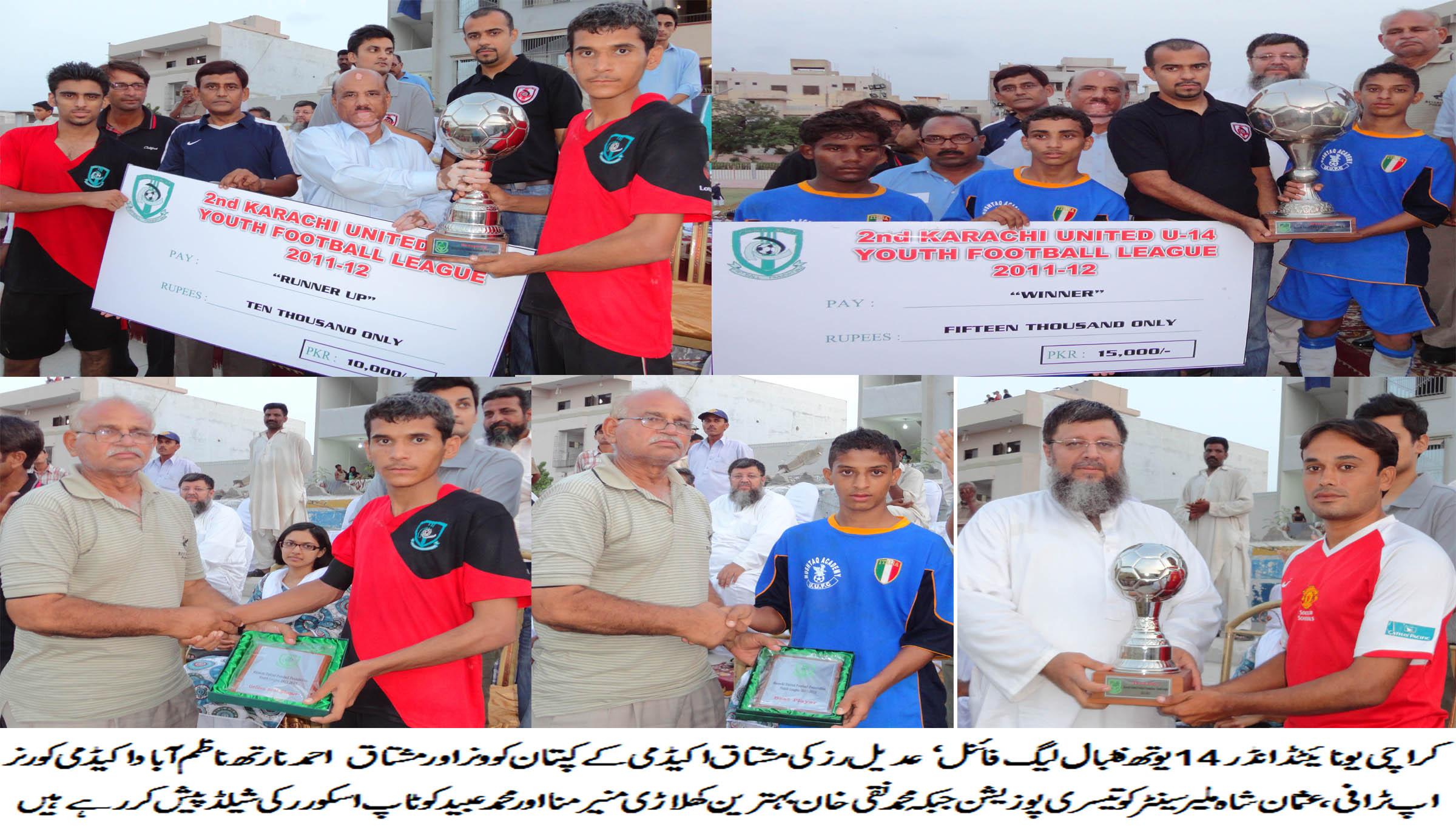 Mushtaq Academy wins KUYFL final