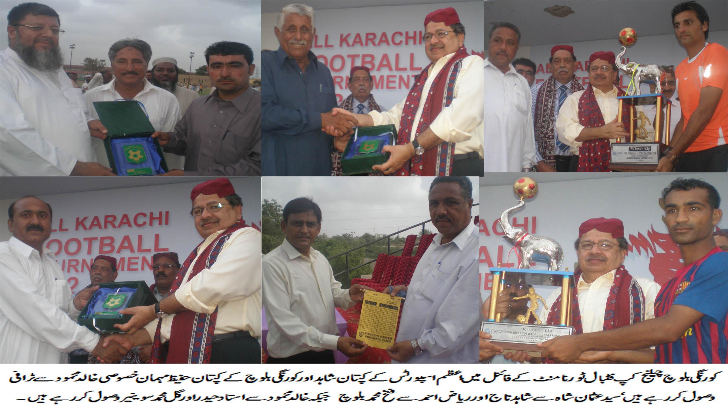 Azam Sports win Korangi Baloch Challenge Cup final