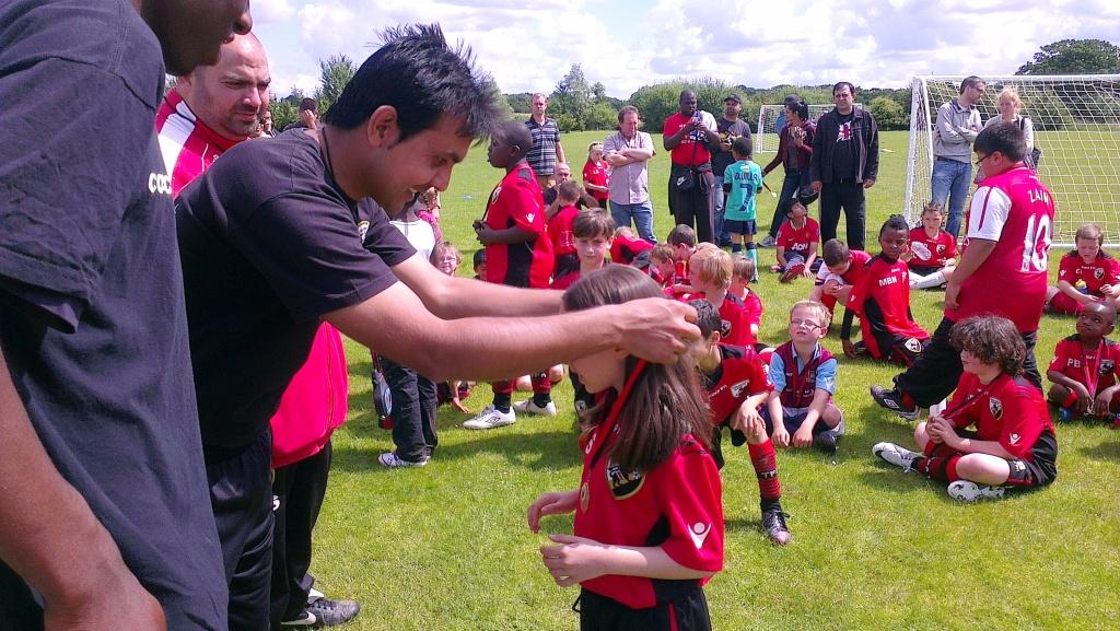 Ex-Pakistan star Sarfraz Rasool joins Total Football Academy in UK
