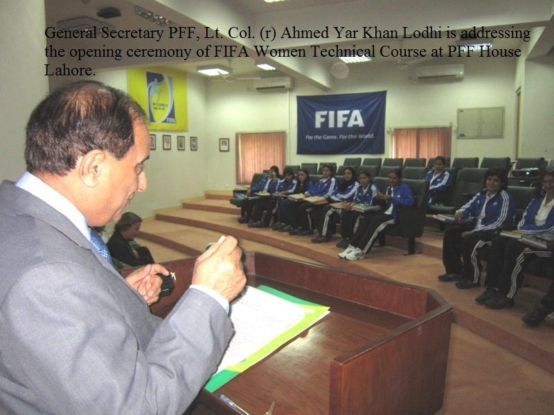 FIFA Women Technical Course begins