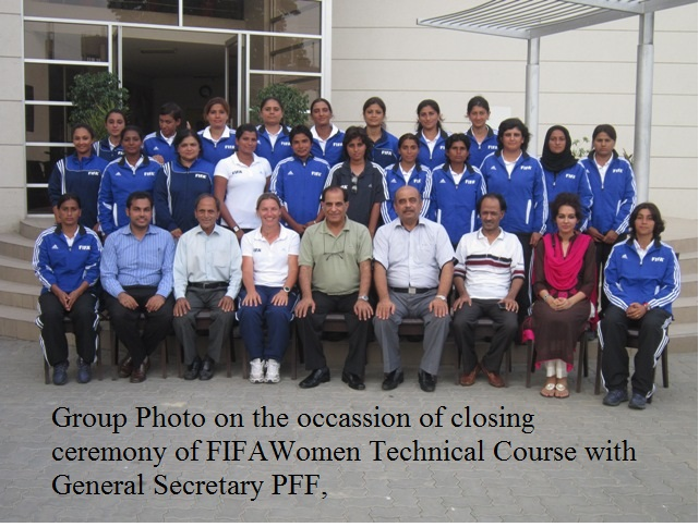 FIFA Women Technical Coaching Course ends