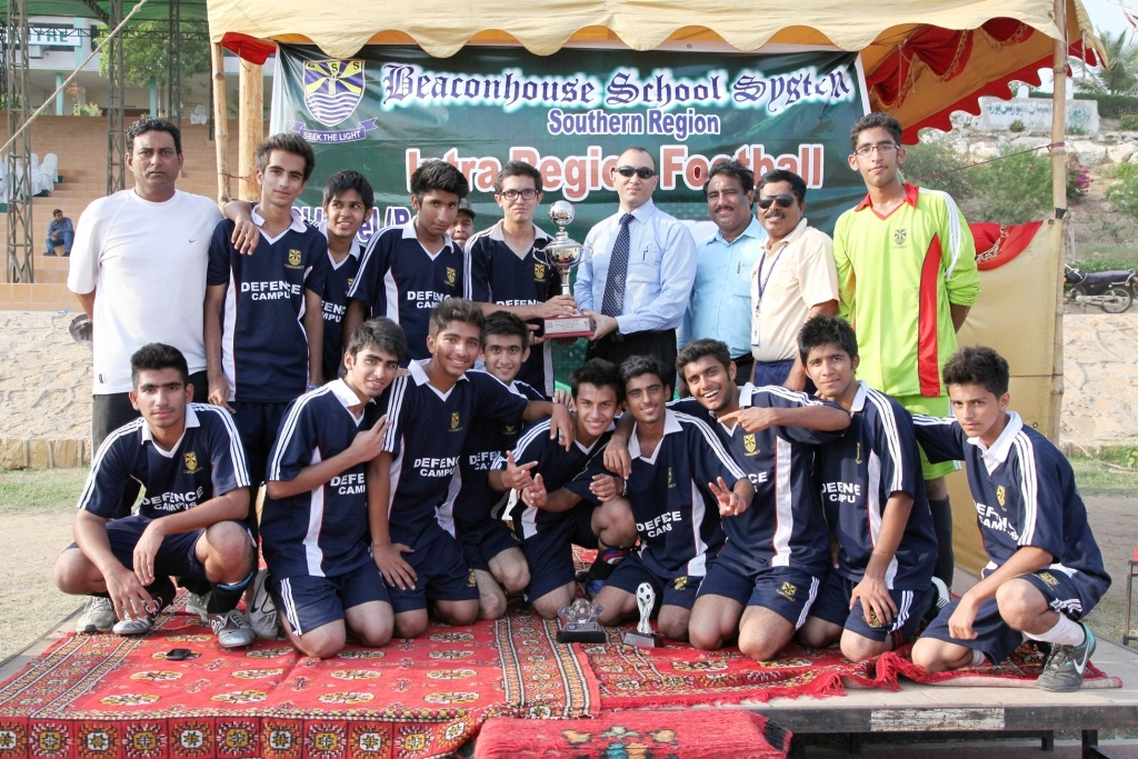 Defence Campus win Beaconhouse Intra-Region Football final!