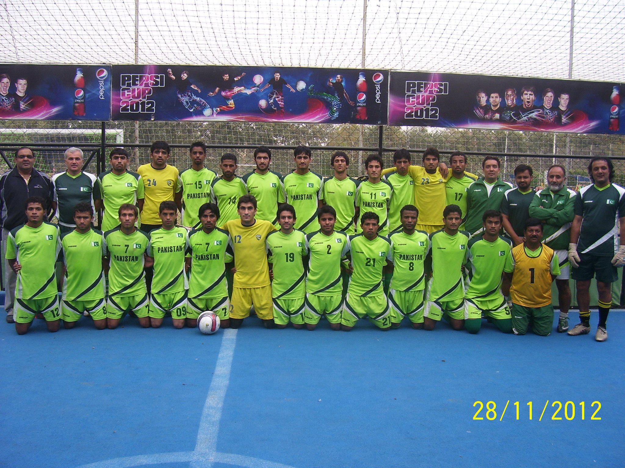 Pakistan U-23 departs for Sri Lanka