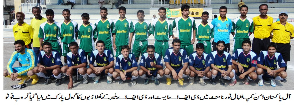 Playing football for peace [The News]