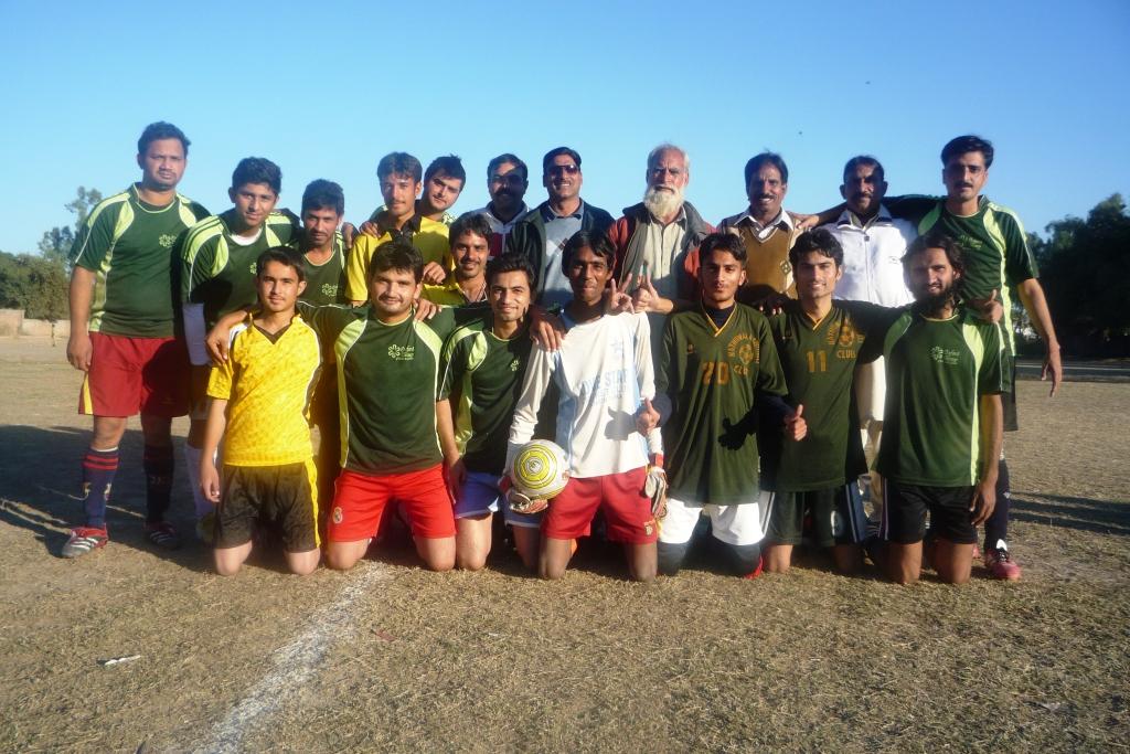Housing Colony FC (Sheikhupura) with DFA Sheikhupura secretary Mr Awan