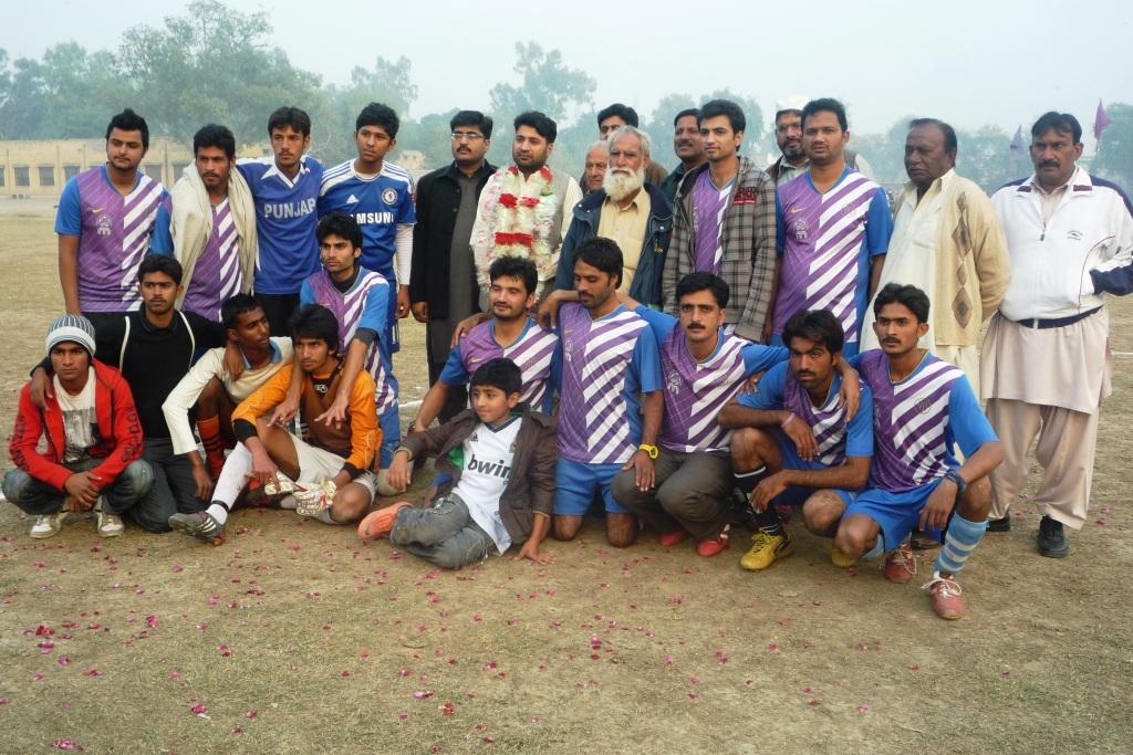 Manawala Shaheen FC with guest Attaullah Virk