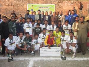University FC (Faisalabad), losing finalist of 9th PFF League 2012 in Sahiwal