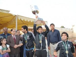KRL lift PPFL 2012 trophy