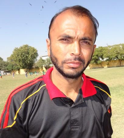 Farhan Khan - ex-youth international