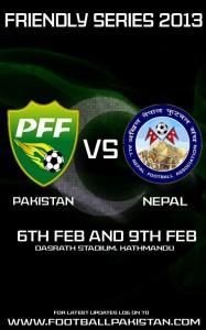 Pakistan vs Nepal series Feb 2013