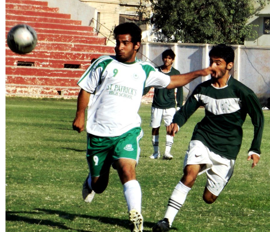 Aga Khan School vs St. Patrick's (action)