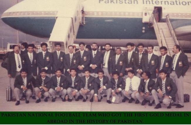 Imtiaz But with Ist Gold Medelist team in 1991 (Sri Lanka)