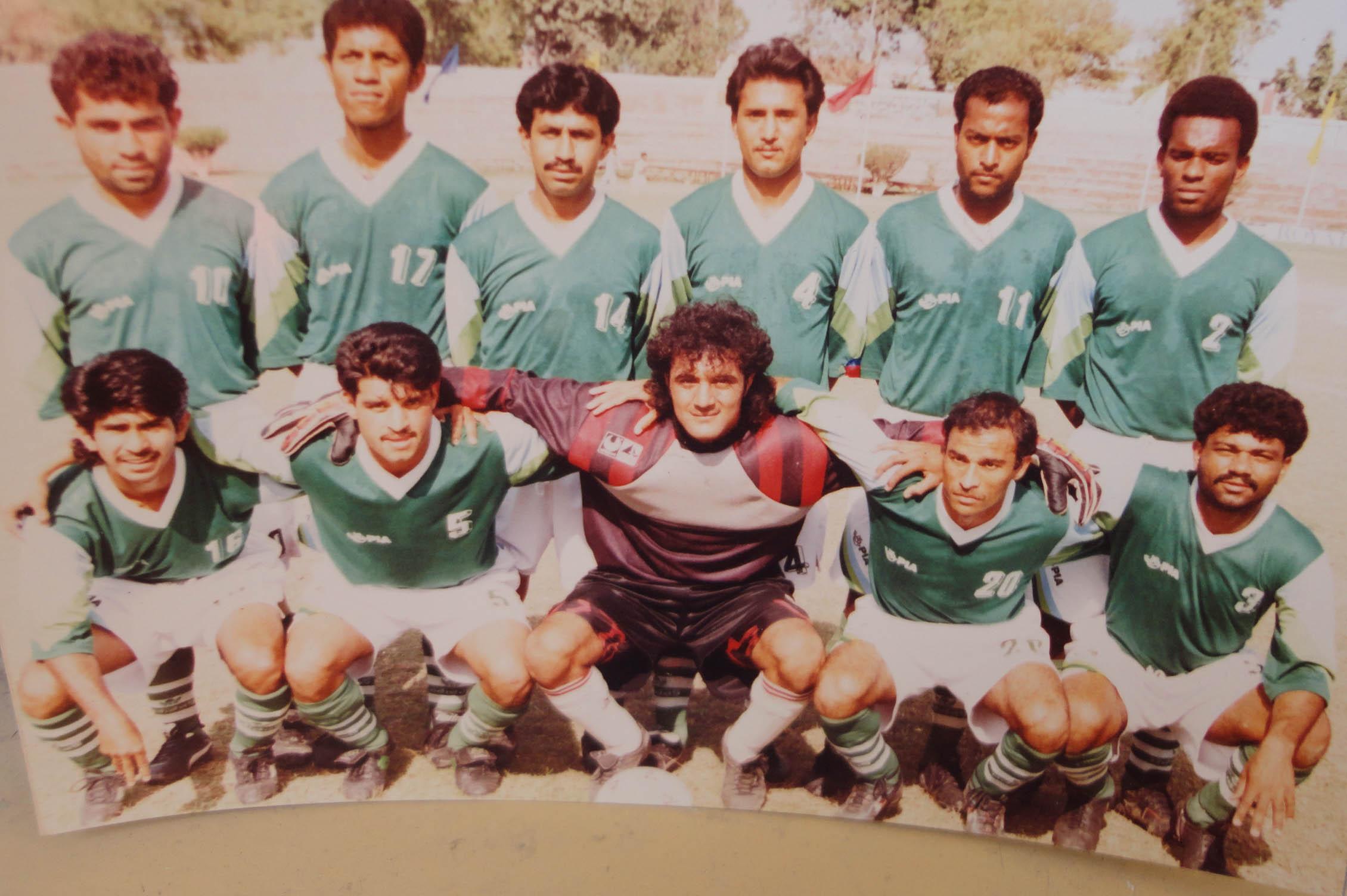 PIA IN 1996 at Faisalabad