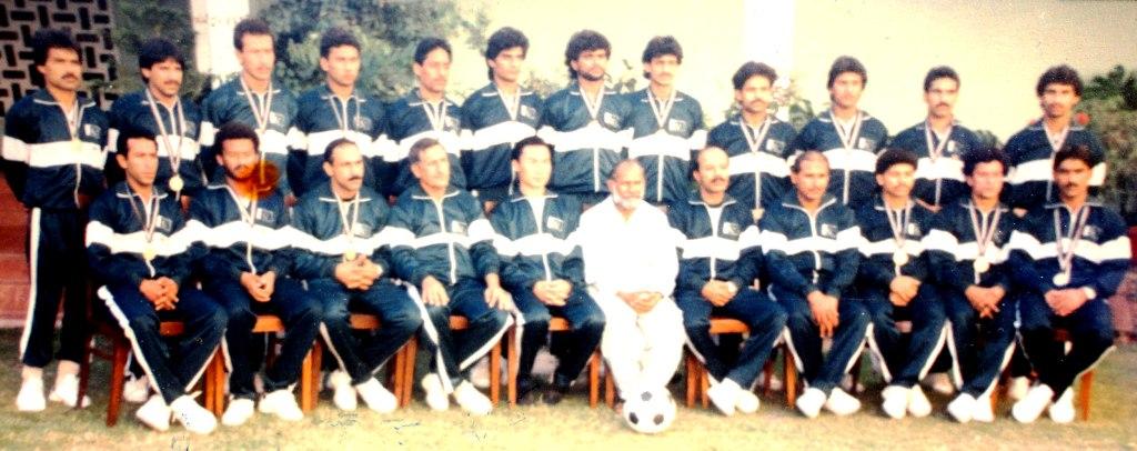 Pakistan Gold Medalist SAF Games 1989 team