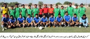FC Rovers vs Al-Shabaz Korangi