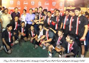 Coca Cola Football Final - 1