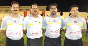 Referees of Final Adnan Khan, Javed Bangash, Ejaz Hussain and Saleem Babar