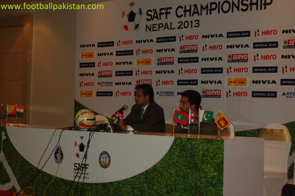 The Pakistan boss addressed the South Asian media today along with captain Samar Ishaq.