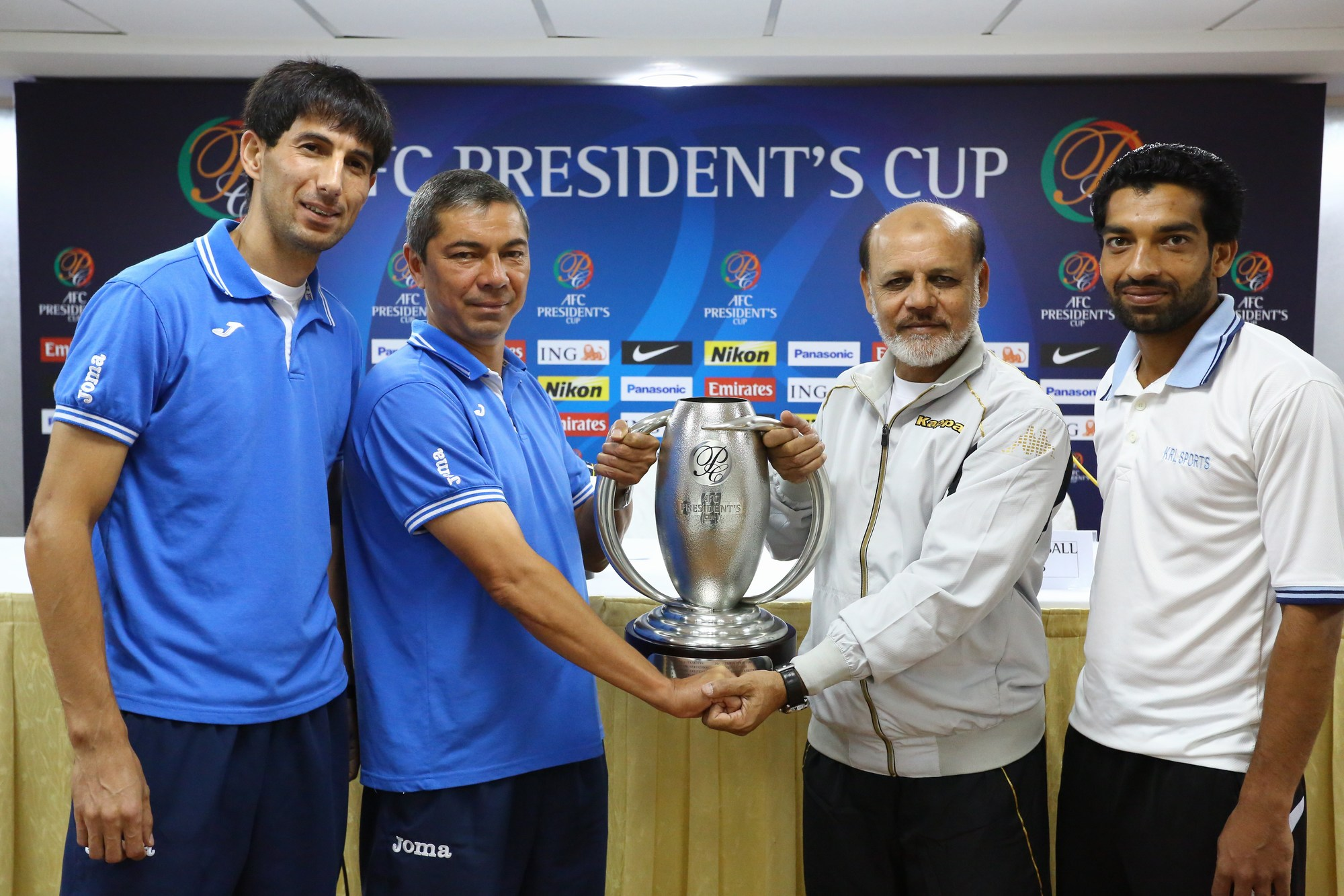Pictures: AFC Presidents Cup Final Press Conference – KRL vs. Balkan FC