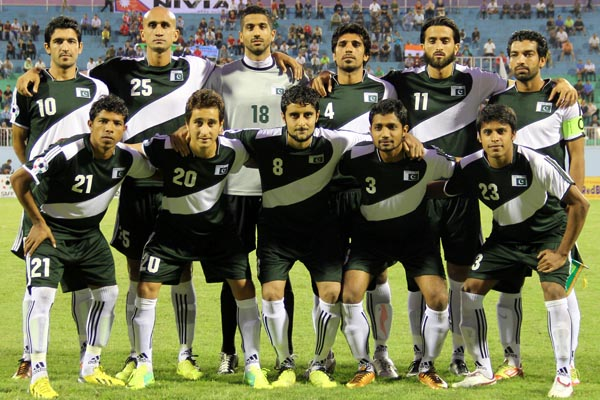 Pakistan falls to 172 in the FIFA Rankings
