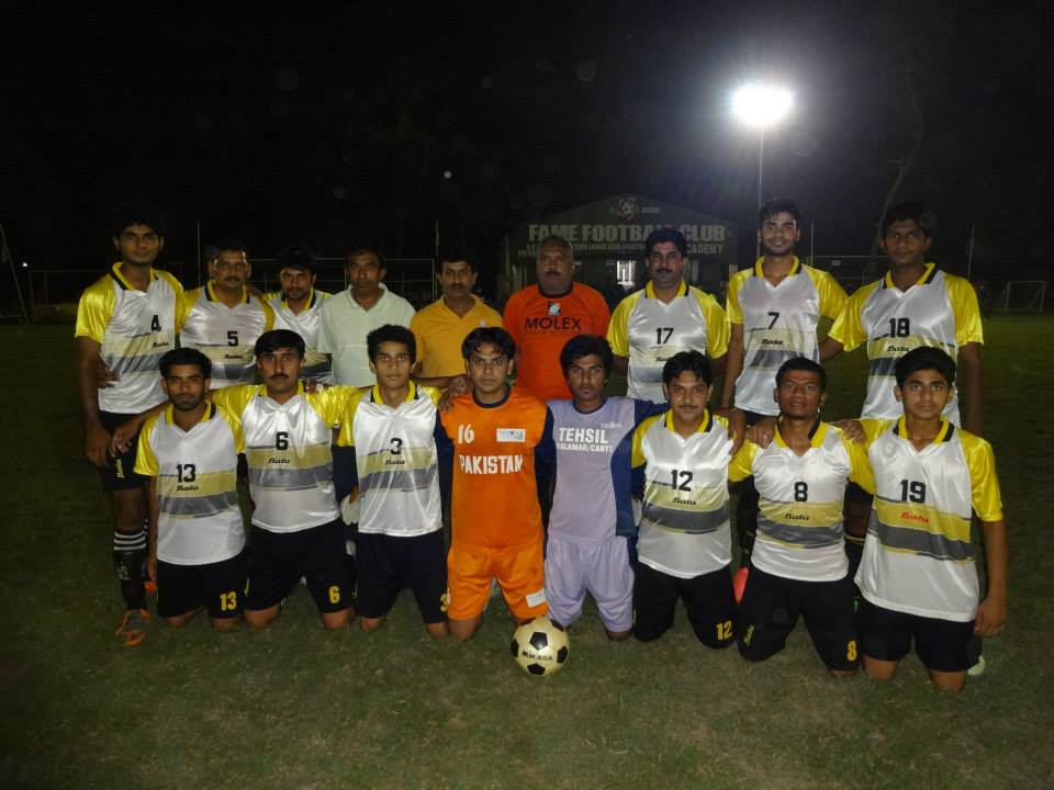 Fame Football League kicks off in Lahore