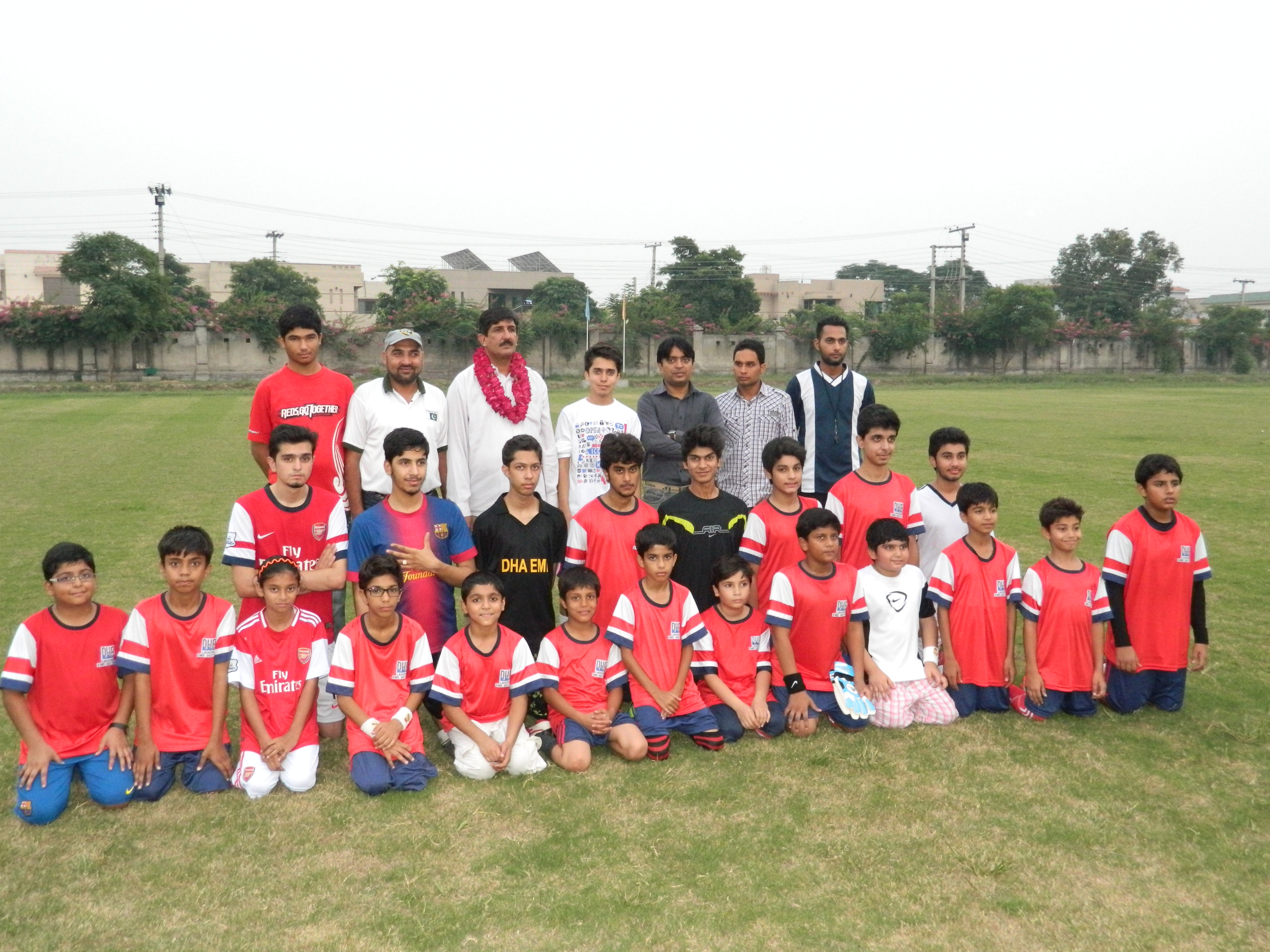 PFA visits newly launched academy