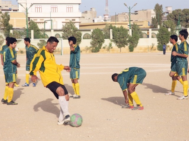 Ball's in your court: Commissioner hopes to score with Lyari football matches [Tribune]