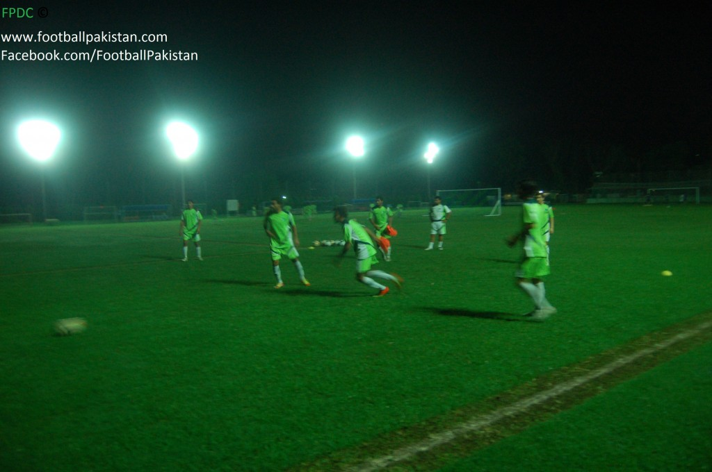 Model Town Football Club's facilities are good enough for the National Team, but they don't produce talented players despite having a 'C' License coach to boost.