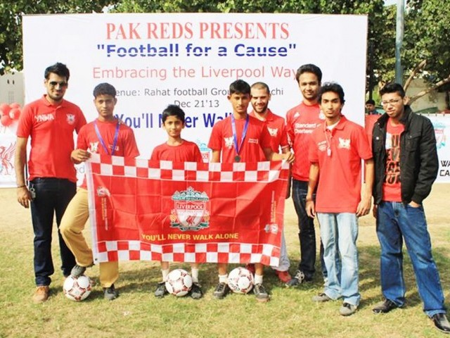 Liverpool fans promote football among U16s [Tribune]