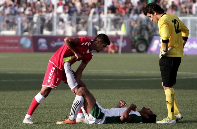 Pakistan were battered by Afghanistan. Literally.