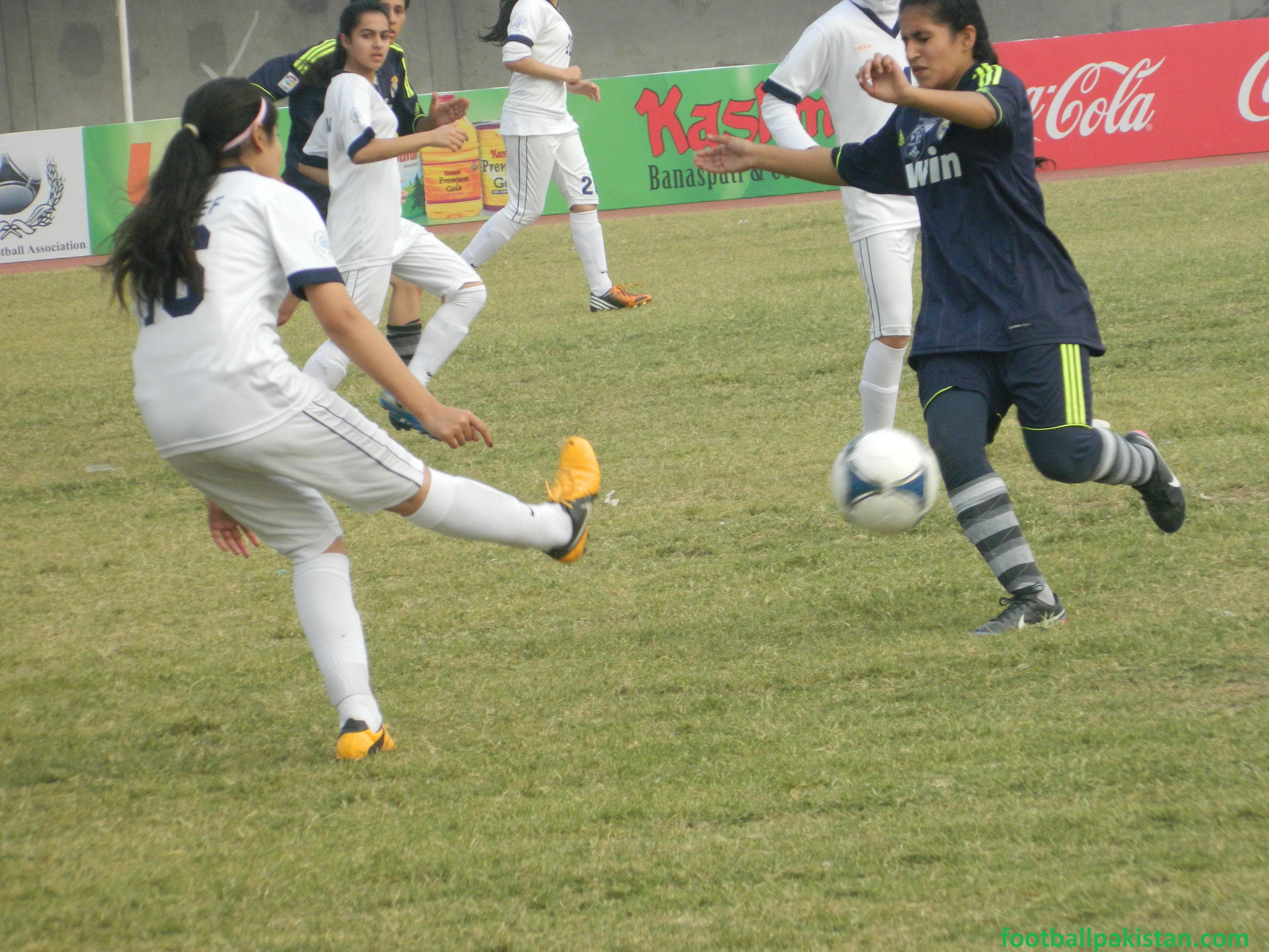 Marta Women FC A clinch football trophy [The News]