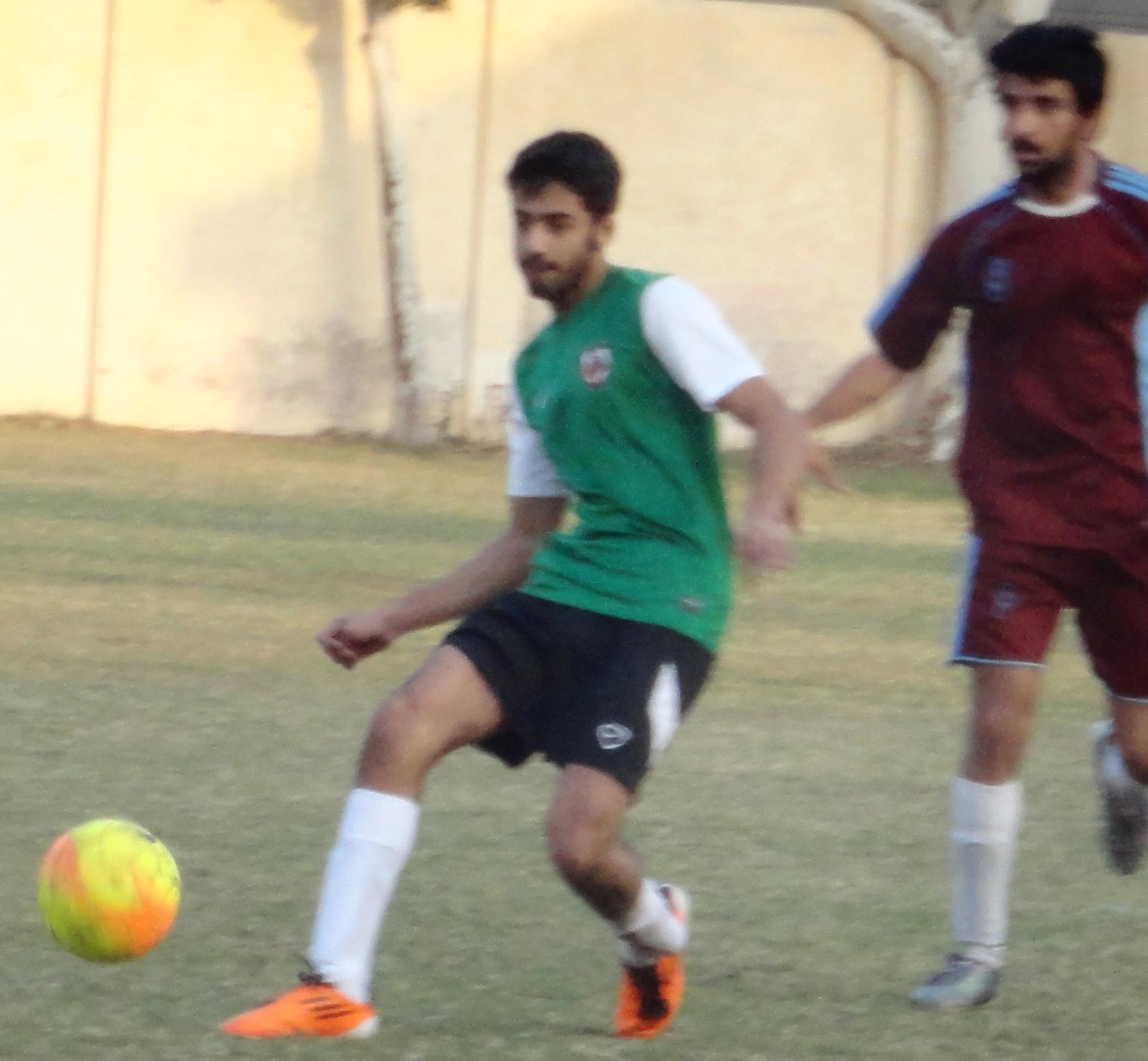 1TH KYI COCA COLA KARACHI FOOTBALL LEAGUE 2014: KUFC, Azam Sports and Gulistan Friends Korangi secure three points