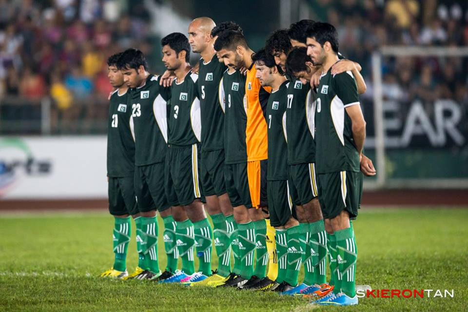 Pakistan rise to 158 in FIFA Rankings