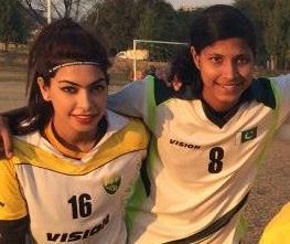 Shahlyla and Hajra