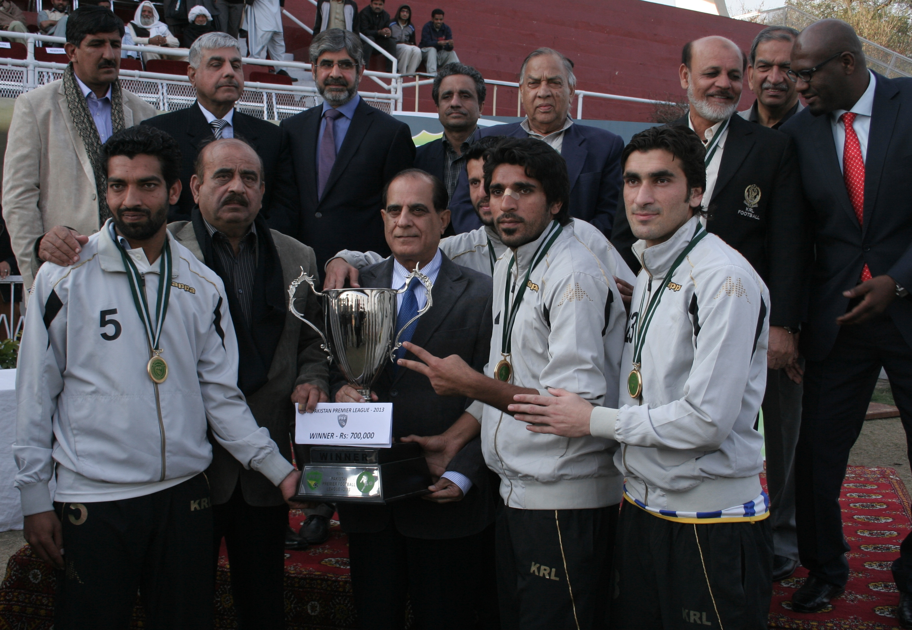 Pakistan Premier League: KRL hold KESC and lift title