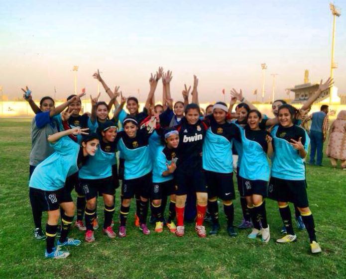 Winner of All Sindh Noor Women Football Championship crowned: Balochistan United Women Football Club.