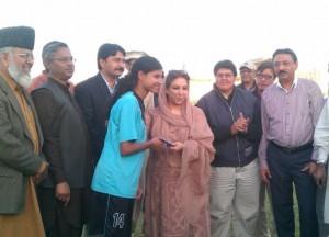 Hajra Khan and Rubina Irfan