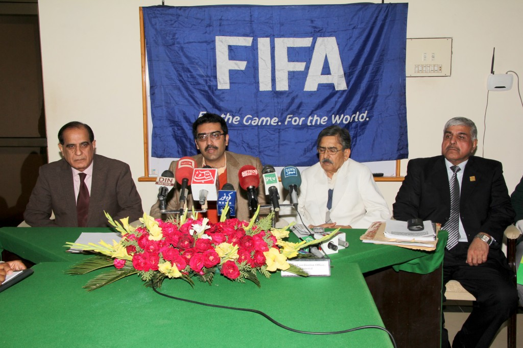 Khanewal set to get FIFA Training Center and Field