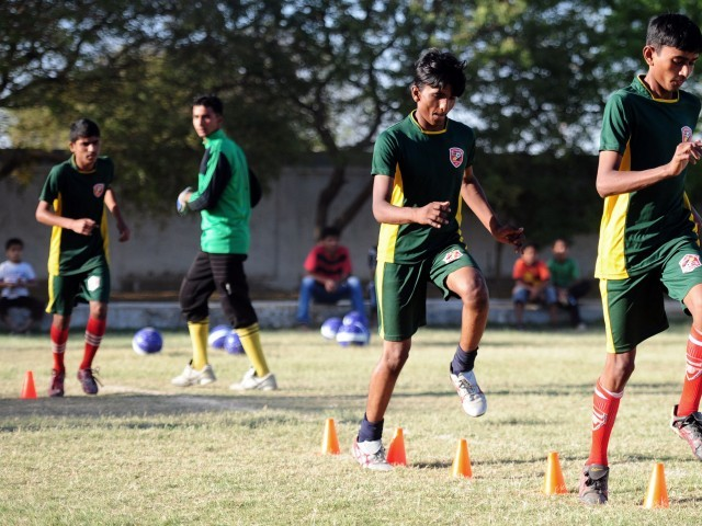 Brazil beckons for Pakistan's street kid footballers [Express Tribune]