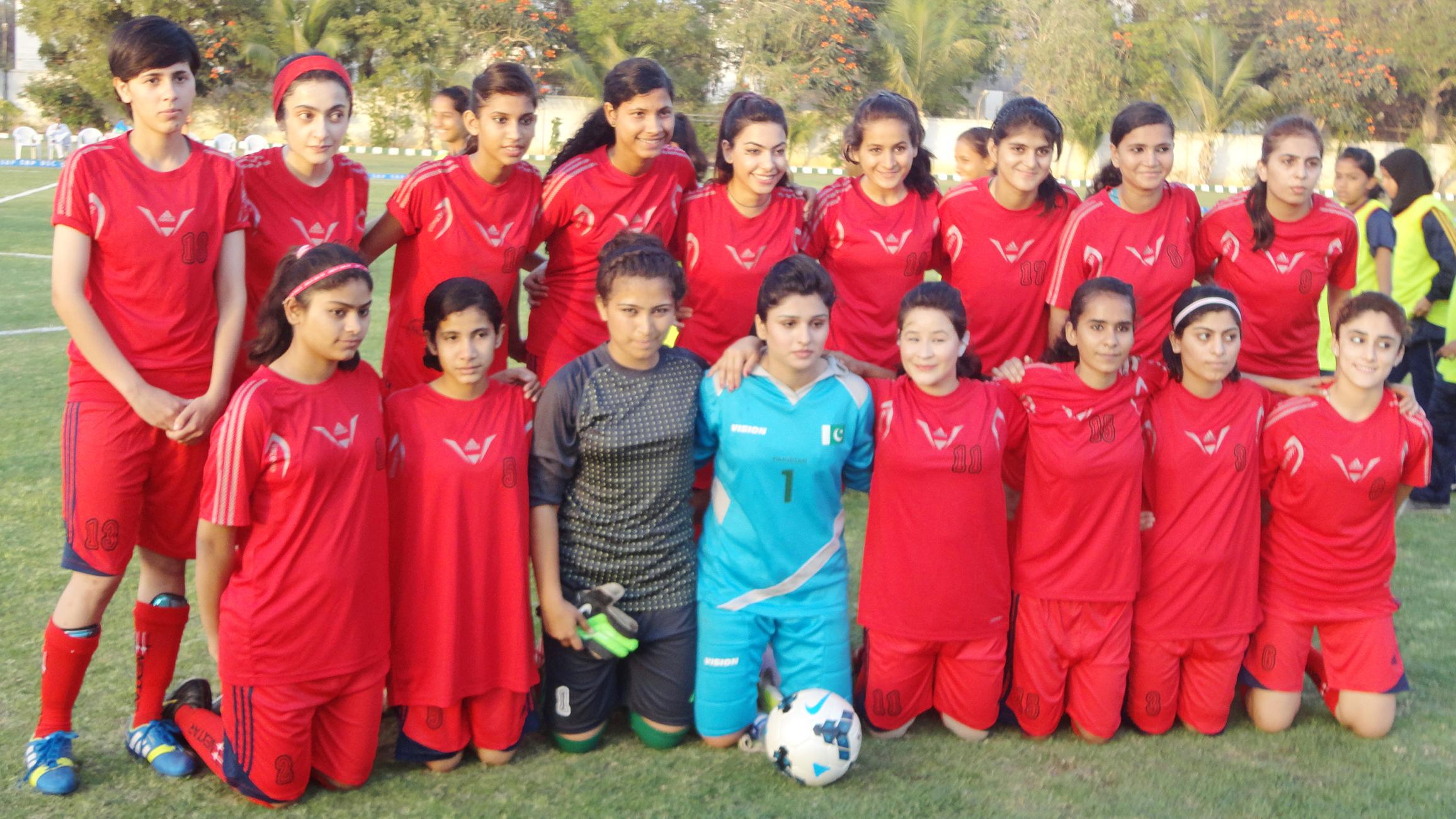 SBP Women's Football Tournament: Balochistan United and Karachi United WFC enter Final