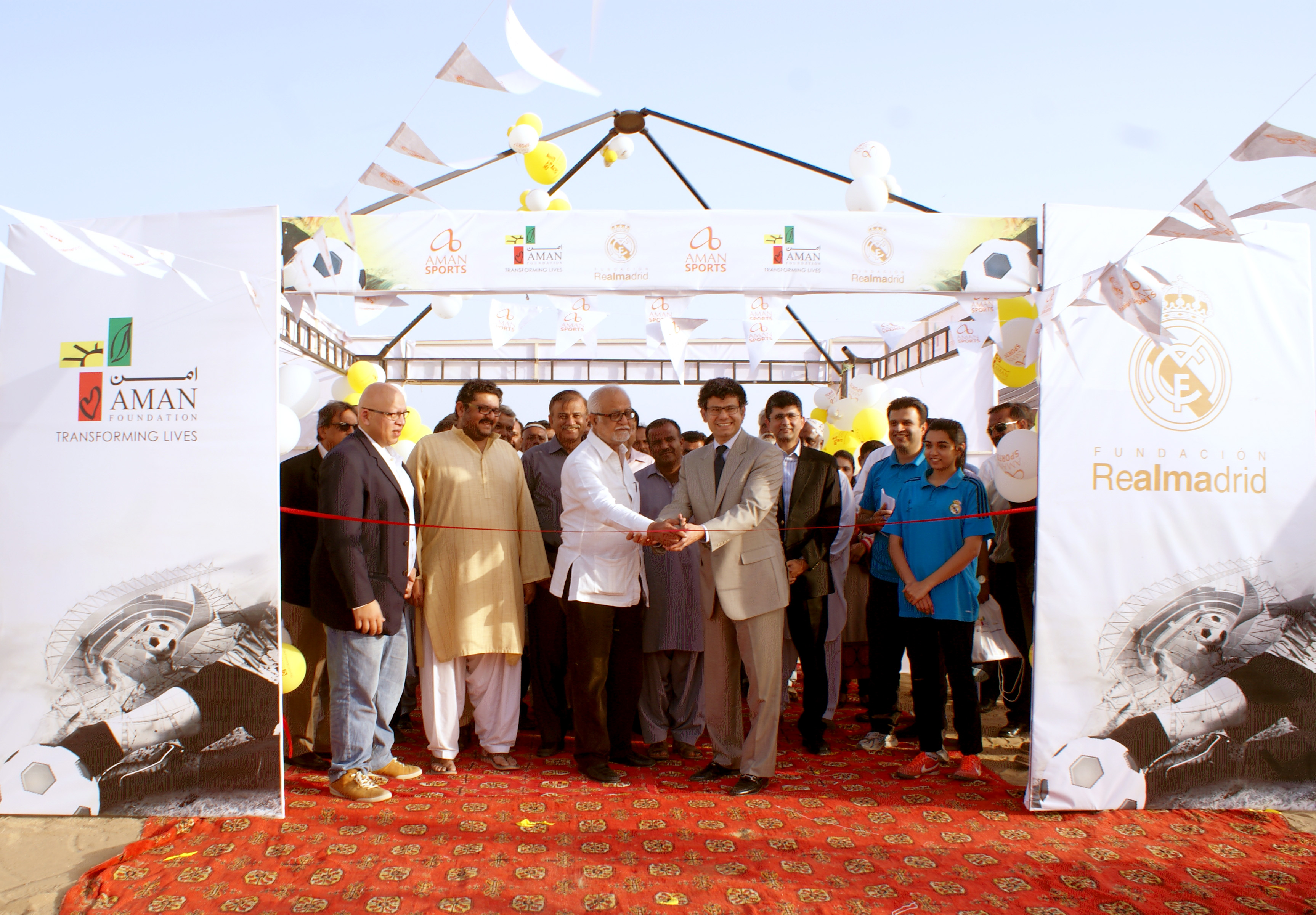 Real Madrid Foundation Social Sports School to be launched in Karachi