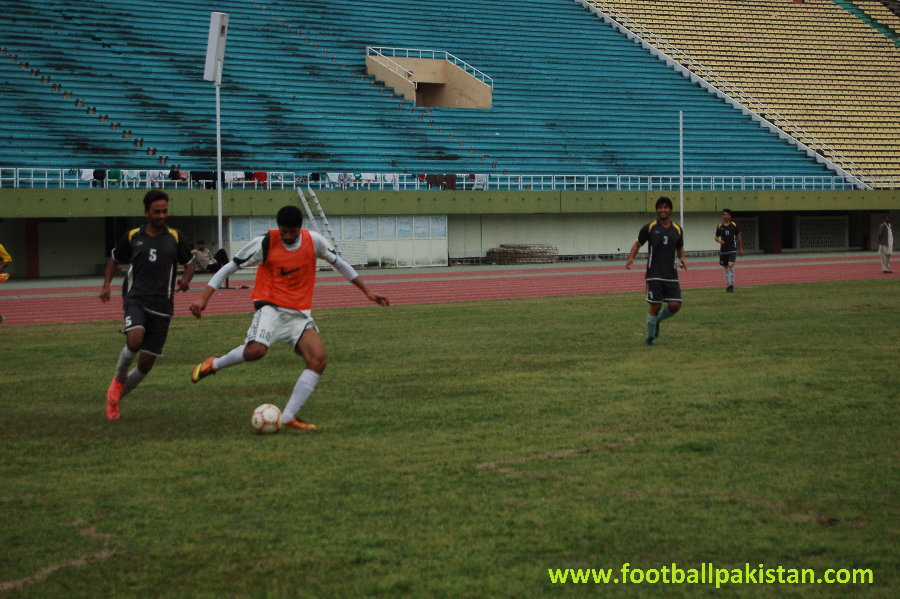 Exclusive Pictures: KRL FC play friendlies against Islamabad XI