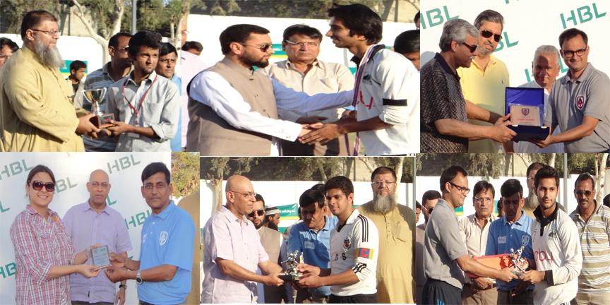 Karachi Grammar School won 9TH HBL KARACHI UNITED SCHOOL CHAMPIONSHIP