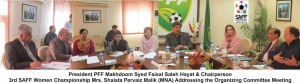 PFF names SAFF Women Championship 2014 org committee