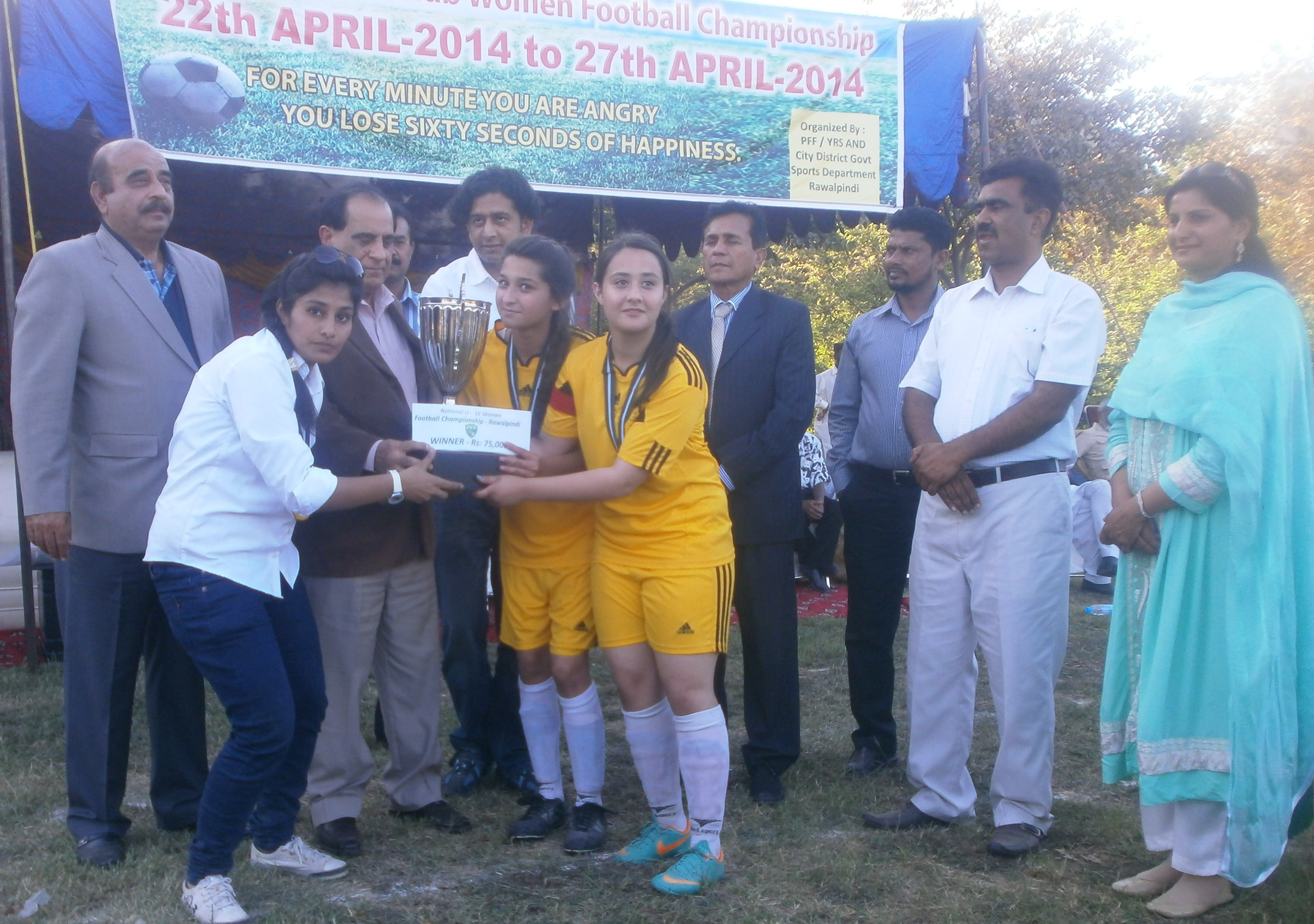 Young Rising Star crowned National Women's U-16 Championship winners