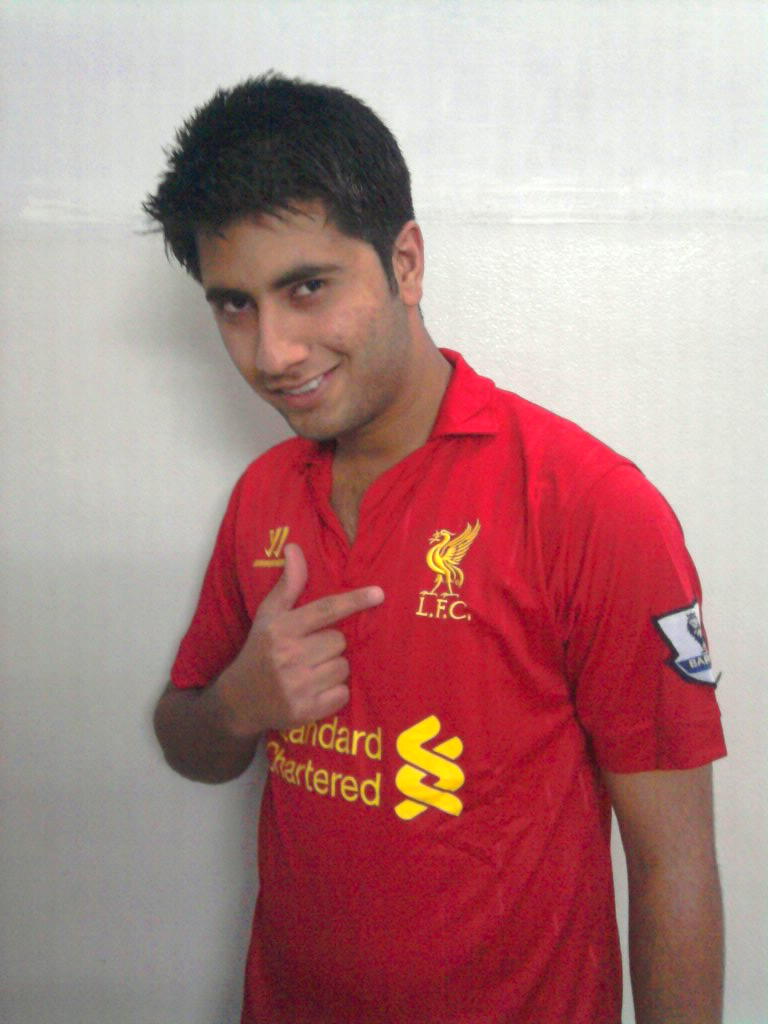 "FPDC Stories: Saad Hassan, ""My dream is to play at Anfield."""