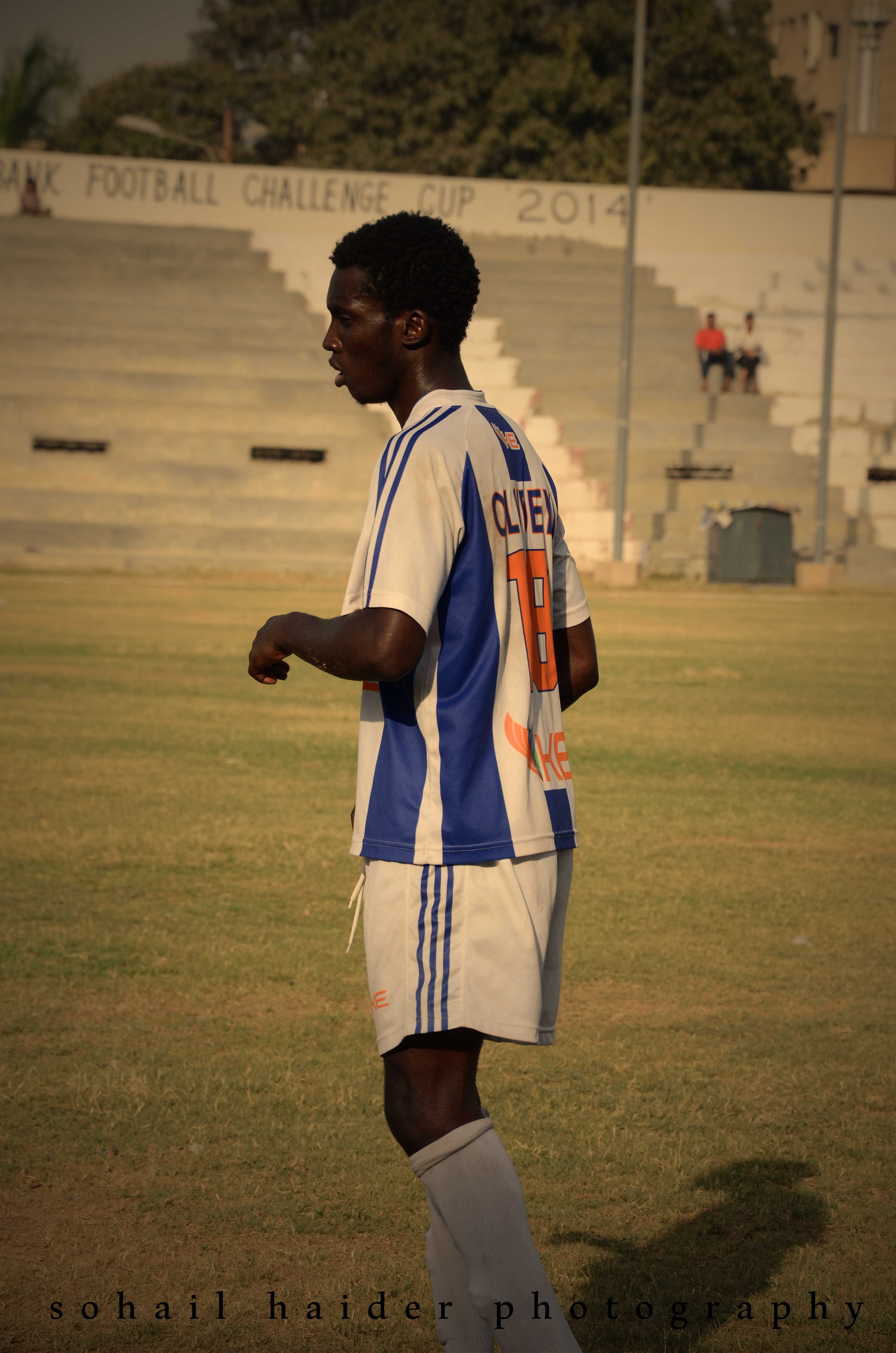Oludeyi earns Pakistanis' respect [The News]