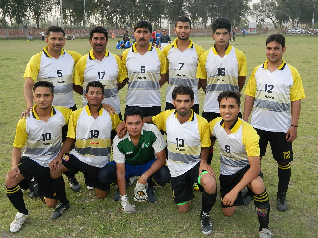 1st Punjab College Football club and Academy 1st 11 side Tournament: Canal View FC and Bata FC setup final clash